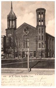 Connecticut Rockville , M.E.Church