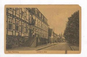 Exterior, Bad Meinberg, People on Staircase, Germany,1900-1910s