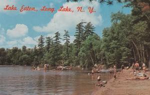 Beach at Lake Eaton near Long Lake - Adirondacks, New York
