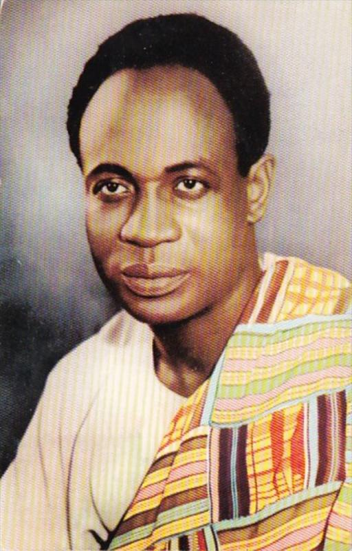 Prime Minister Kwame Nkrumah Commemorating Visit To U S A and Canada 1958