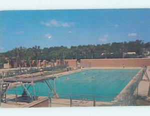 Pre-1980 UNIVERSITY OF FLORIDA SWIMMING POOL Gainesville Florida FL AF2359