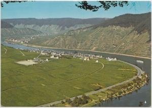 Die Moselschleife bei Ellenz, unused Postcard
