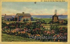 Cape Cod, Massachusetts, USA Windmills Postcard Post Cards, Old Vintage Antiq...