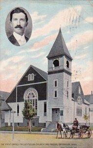 Massachusetts Brockton The First United Presbyterian Church And Pastor 1912
