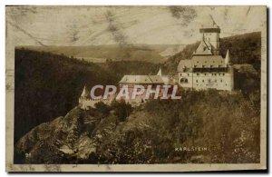 Old Postcard Karlstein