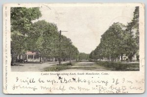 South Manchester Connecticut~Center Street East~Residential Area~1906