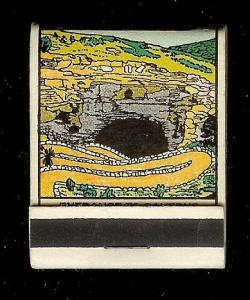 CARLSBAD CAVERNS Entrance 1940's Full Unstruck Matchbook