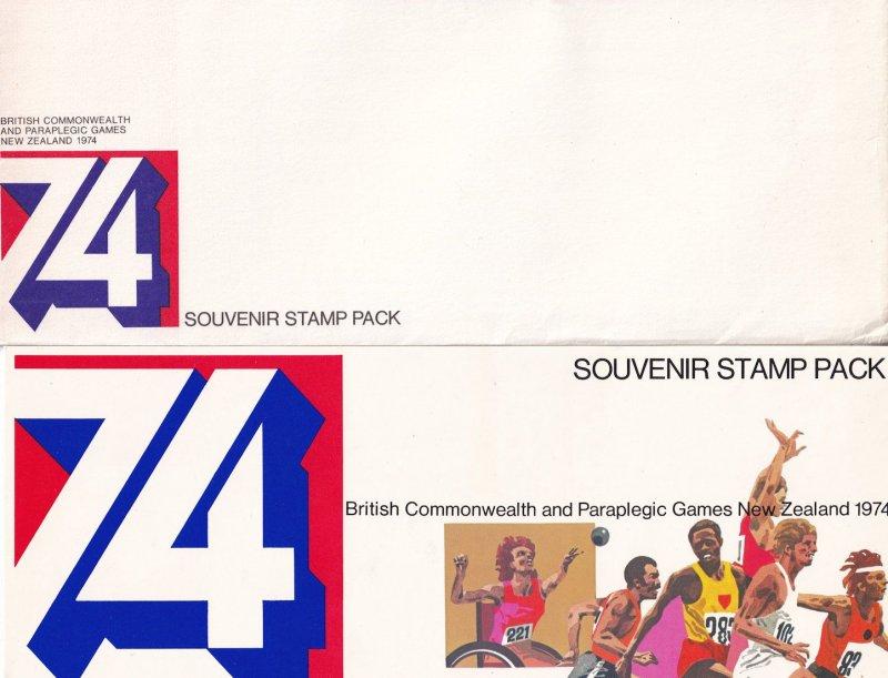 New Zealand 1974 Commonwealth Olympic Paraplegic Games Stamp Set