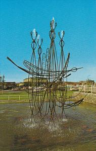 Canada Goose Fountain Edmonton Alberta