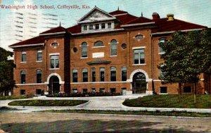 Kansas Coffeyville Washington High School 1909