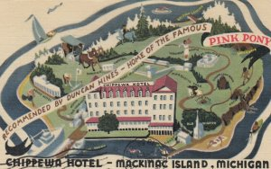 MACKINAC ISLAND , Michigan , 1959 ; Chippewa Hotel