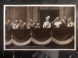 Mint England RPPC Postcard Their Majesties Silver Jubilee King George V