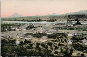 Granite Reef Site Of Diversion Dam AZ Arizona c1908 Postcard E41