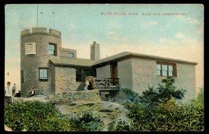 Blue Hills, Mass. Blue Hill Observatory