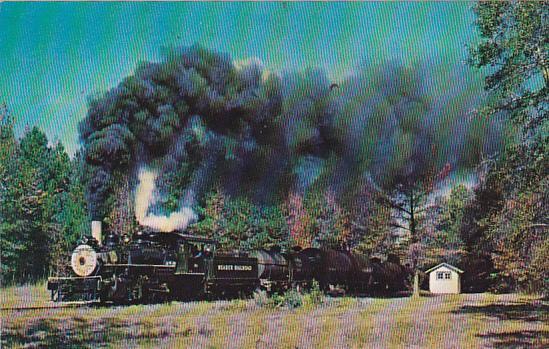 Reader Railroad Prairie Locomotive No 108 At Ames Arkansas November 1969