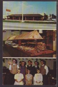 Anderson House Smorgasboard Ft Lauderdale FL Postcard 4576