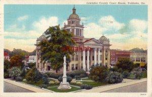 LOWNDES COUNTY COURT HOUSE VALDOSTA, GA 1939