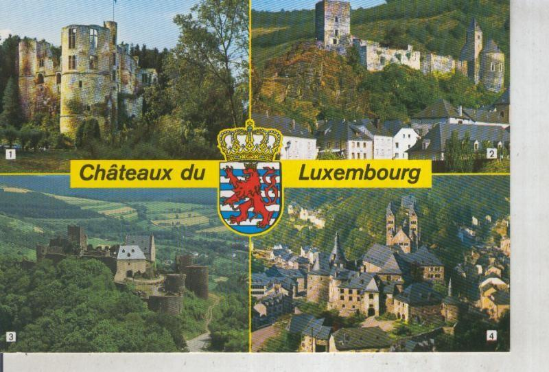 Postal 016176: Chateaux du Luxembourg