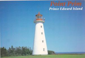 Point Prim Lighthouse , P.E.I. , Canada , 50-70s