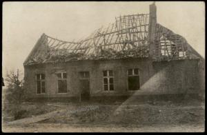 Germany WWI Destroyed Town  RPPC 65553
