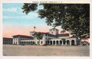 Federal Building, Honolulu, Territory of Hawaii, Early Postcard, Unused