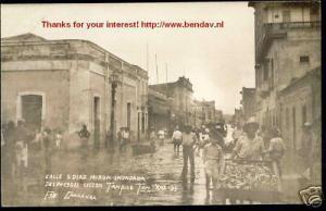 mexico, TAMPICO, Calle Salvador Diaz Miron, RPPC