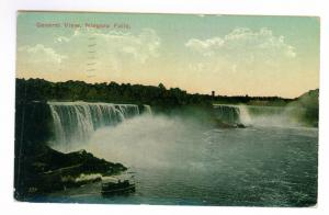 1913 Niagara Falls Postcard mailed from Niagara Falls to Arbington, MA, Sct 397