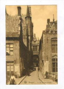 La Rue De l'Ane Aveugle, Bruge (West Flanders), Belgium, 1900-1910s