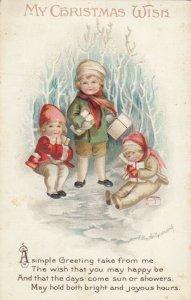 Ellen CLAPSADDLE: CHRISTMAS , 3 kids , 1915