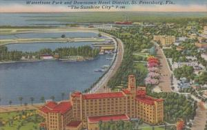 Florida St Petersburg Waterfront Park and Downtown Hotel District