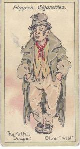 Cigarette Cards Players Characters From Dickens No 1 The Artful Dodger