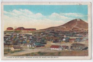 School of Mines & Big Butte, Butte MT