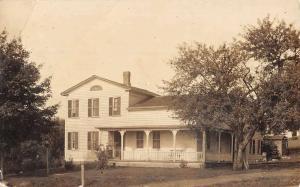 Jordan New York Historic Home Real Photo Antique Postcard K33933