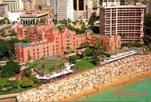 Hawaii Waikiki Beach The Royal Hawaiian Hotel The Pink Palace