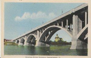 Canada Postcard - Broadway Bridge - Saskatoon - Saskatchewan   U1226