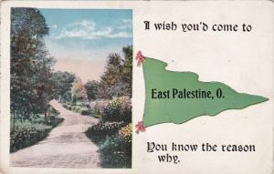 Pennant Series I Wish You'd Come To East Palestine Ohio