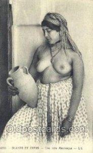 Une jolie Mauresque Arab Nude Unused