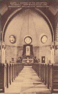Pennsylvania Philadelphia Chapel Academy Of The Assumption Germantown Artvue