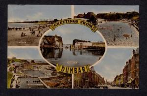 Scotland Greetings From Dunbar Harbor High St Postcard Carte Postale UK