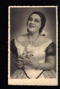 041876 HALILEEVA Russia OPERA Star La traviata old PHOTO Card