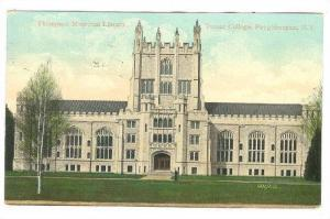 Thompson Memorial Library, Vassar College, Poughkeepsie, New York, PU-1909