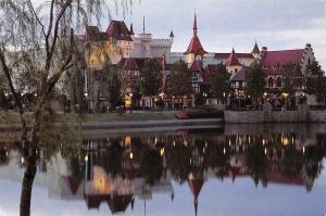 USA Germany, World Showcase The calm waters of World Showcase Lagoon