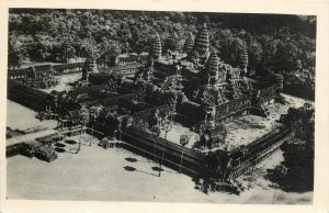 Aerial view photo ANGKOR VAT Cambodgia