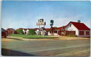 King City, California Postcard LINDY MOTOR INN Highway 101 Roadside 1950s Chrome