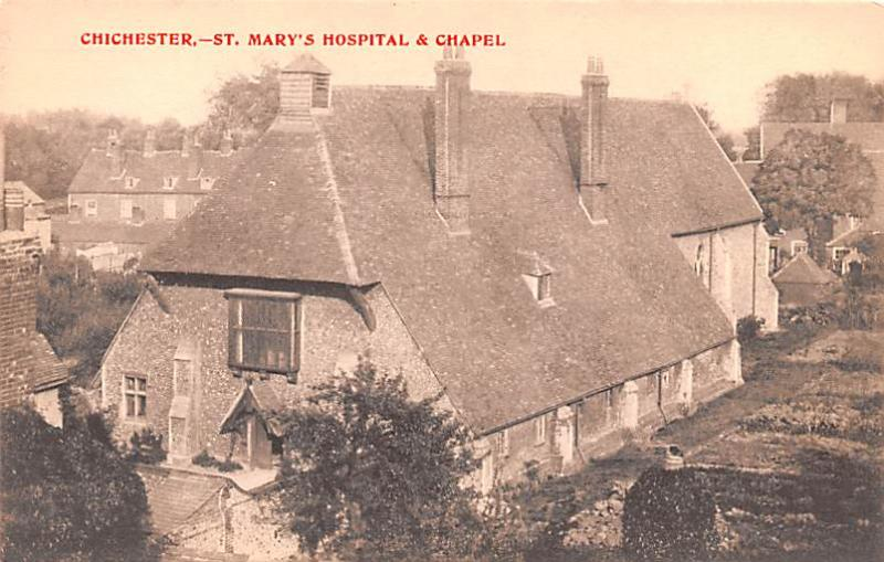 Chichester United Kingdom, Great Britain, England St Mary's Hospital & Chapel...