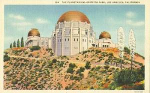 The Planetarium, Griffith Park, Los Angeles, California 1...