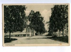 214050 FINLAND UUSIKAUPUNKI Vintage Jassila postcard