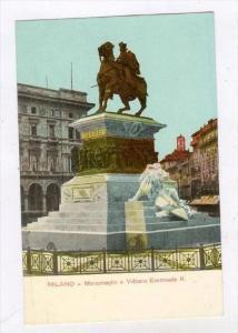 Milano , Italy, 00-10s   Monumento a Vittorio Emanuele II