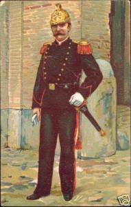 Vatican, Pompiere Pontificia, Fireman Uniform (1899)