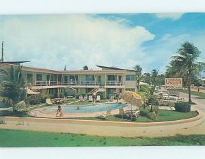 Unused Pre-1980 APARTMENT MOTEL Fort Lauderdale By The Sea Florida FL c2784